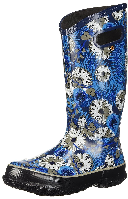 Bogs Women's Rainboot Living Garden Rain Boot B073PJM45B 11 B(M) US|Blue/Multi