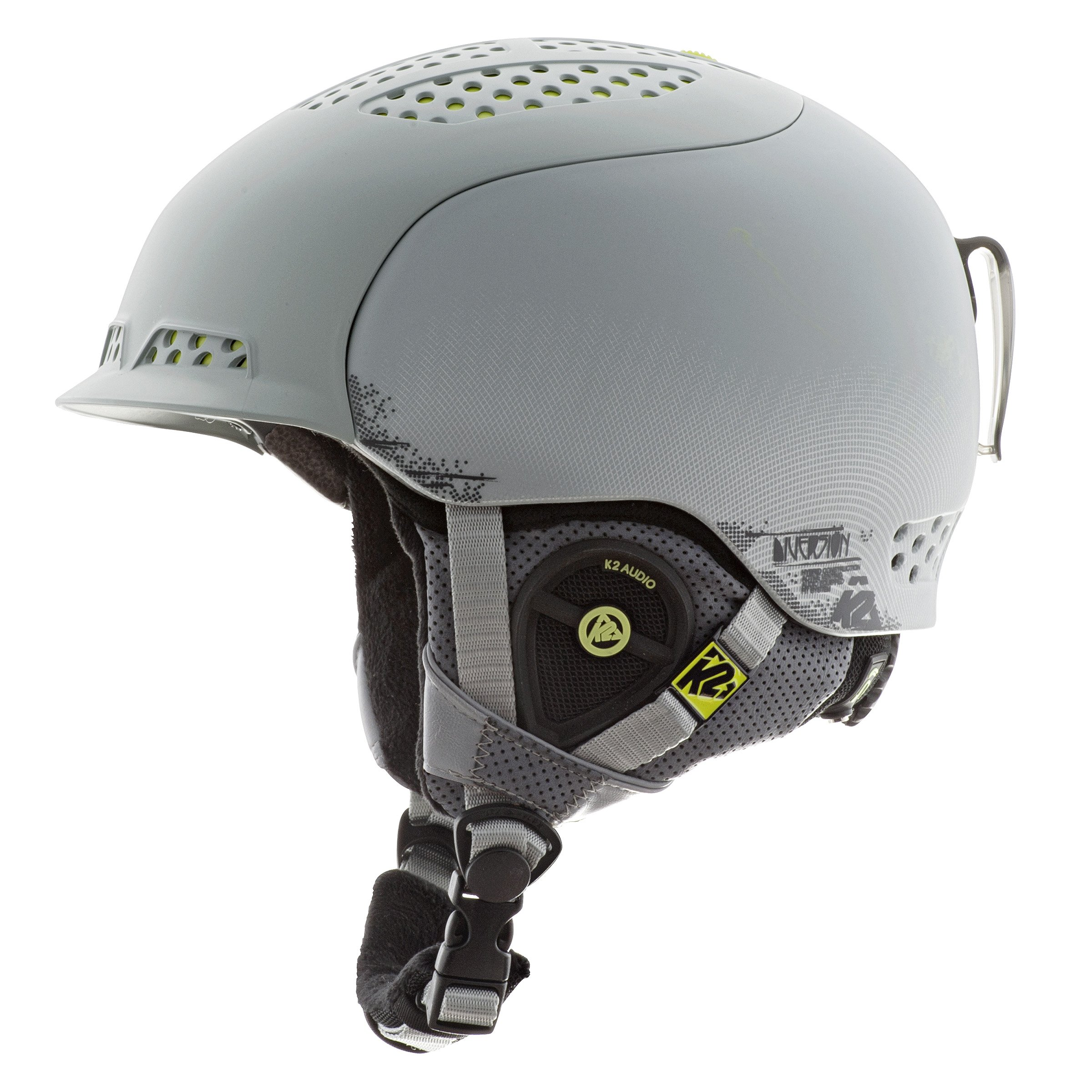 K2 Diversion Ski Helmet, Gray, Small