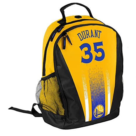 98499ed6f448 Amazon.com   Golden State Warriors 2016 Stripe Prime Time Backpack School  Gym Bag - Kevin Durant  35   Sports   Outdoors
