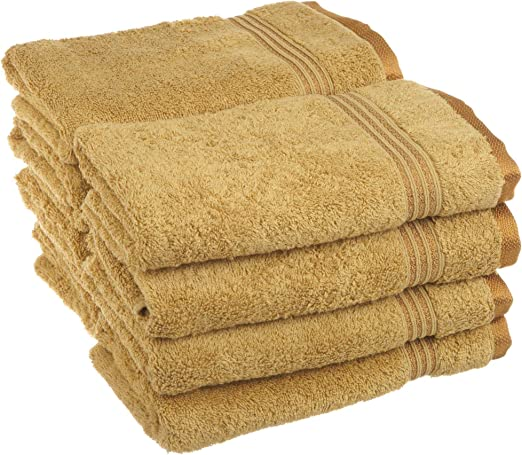 8-pc Royal Purple Superior 600 GSM Long Staple Cotton Hand Towel Set