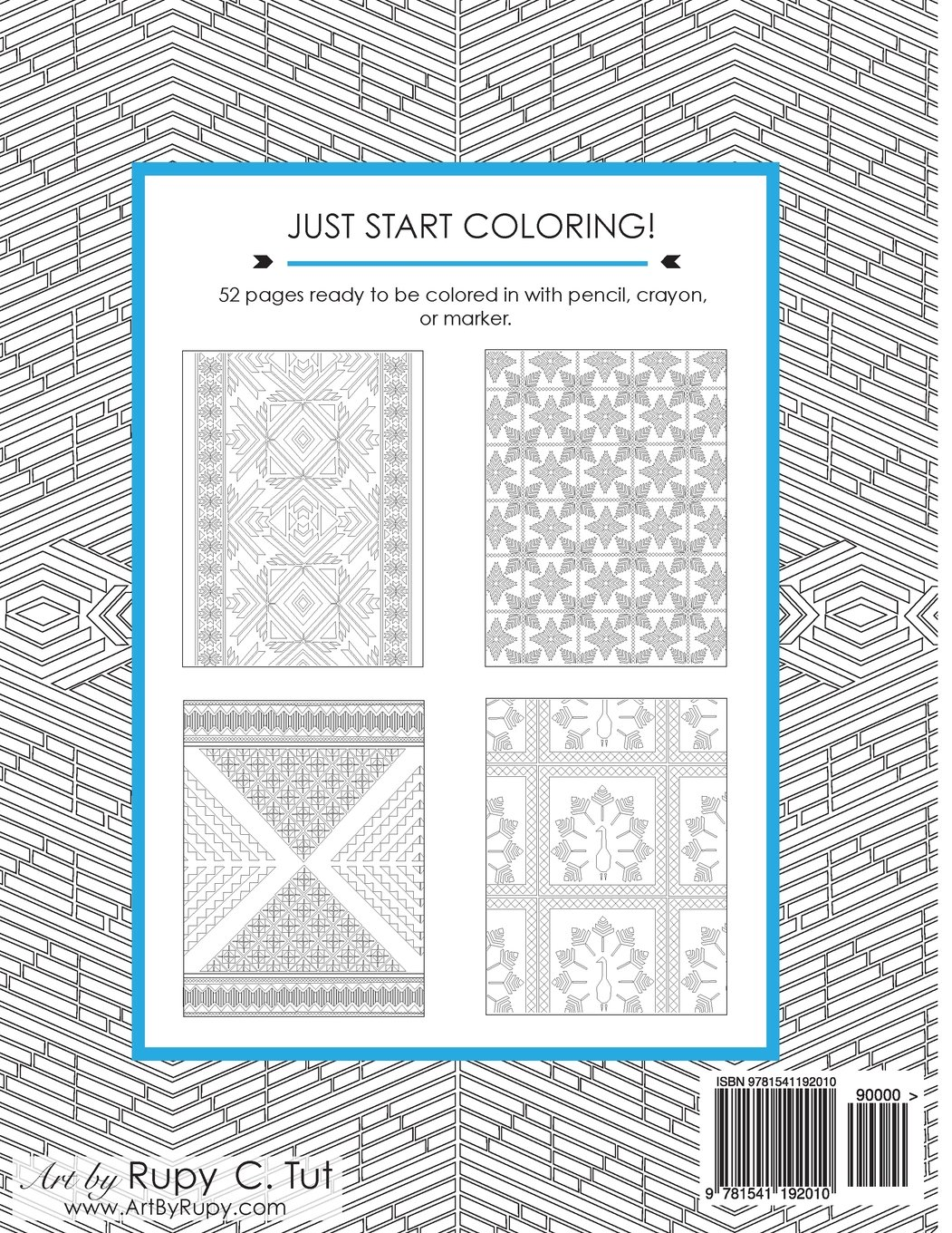Amazon.com: Phulkari: An Adult Coloring Book of Stress Relieving ...