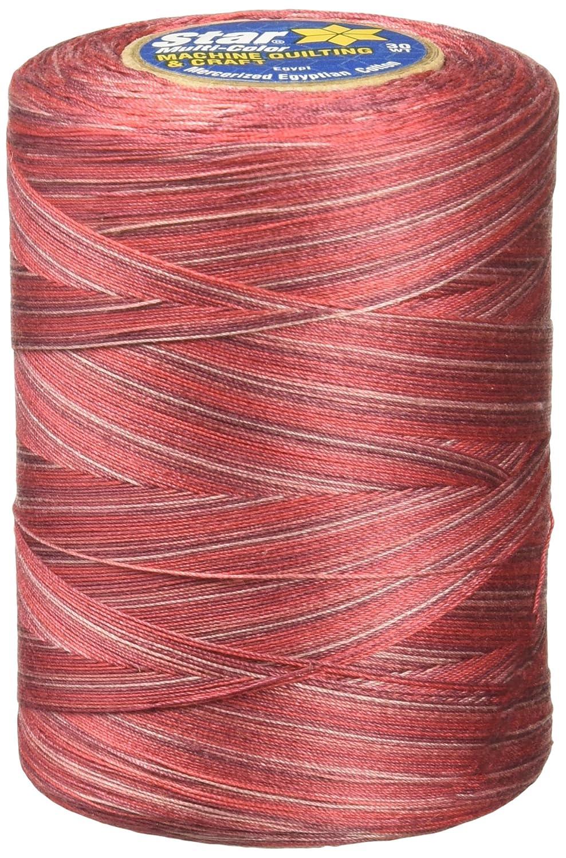 YLI Corporation Coats Thread and Zippers Star Mercerized Cotton Thread Variegated, Deep Ocean Coats: Thread & Zippers V38-841
