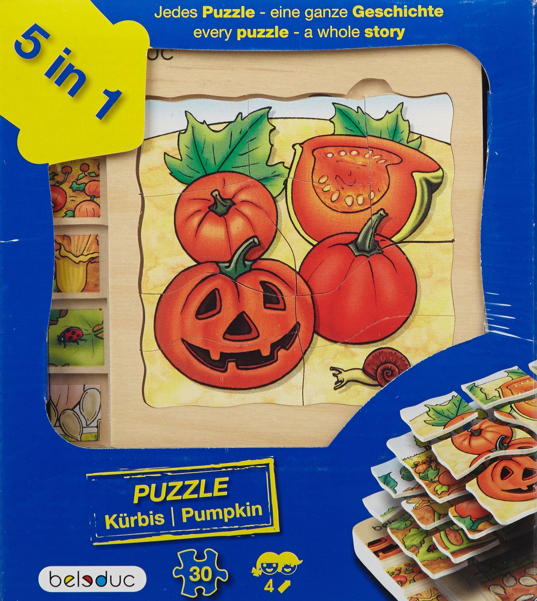 beleduc 5 Layer ''Pumpkin'' Puzzle