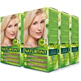 Naturtint Permanent Hair Color 10N Light Dawn Blonde (Pack of 6), Ammonia Free, Vegan, Cruelty Free, up to 100% Gray…