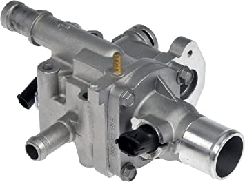Amazon Com Dorman 902 033 Engine Coolant Thermostat Housing Assembly For Select Chevrolet Models Oe Fix Automotive