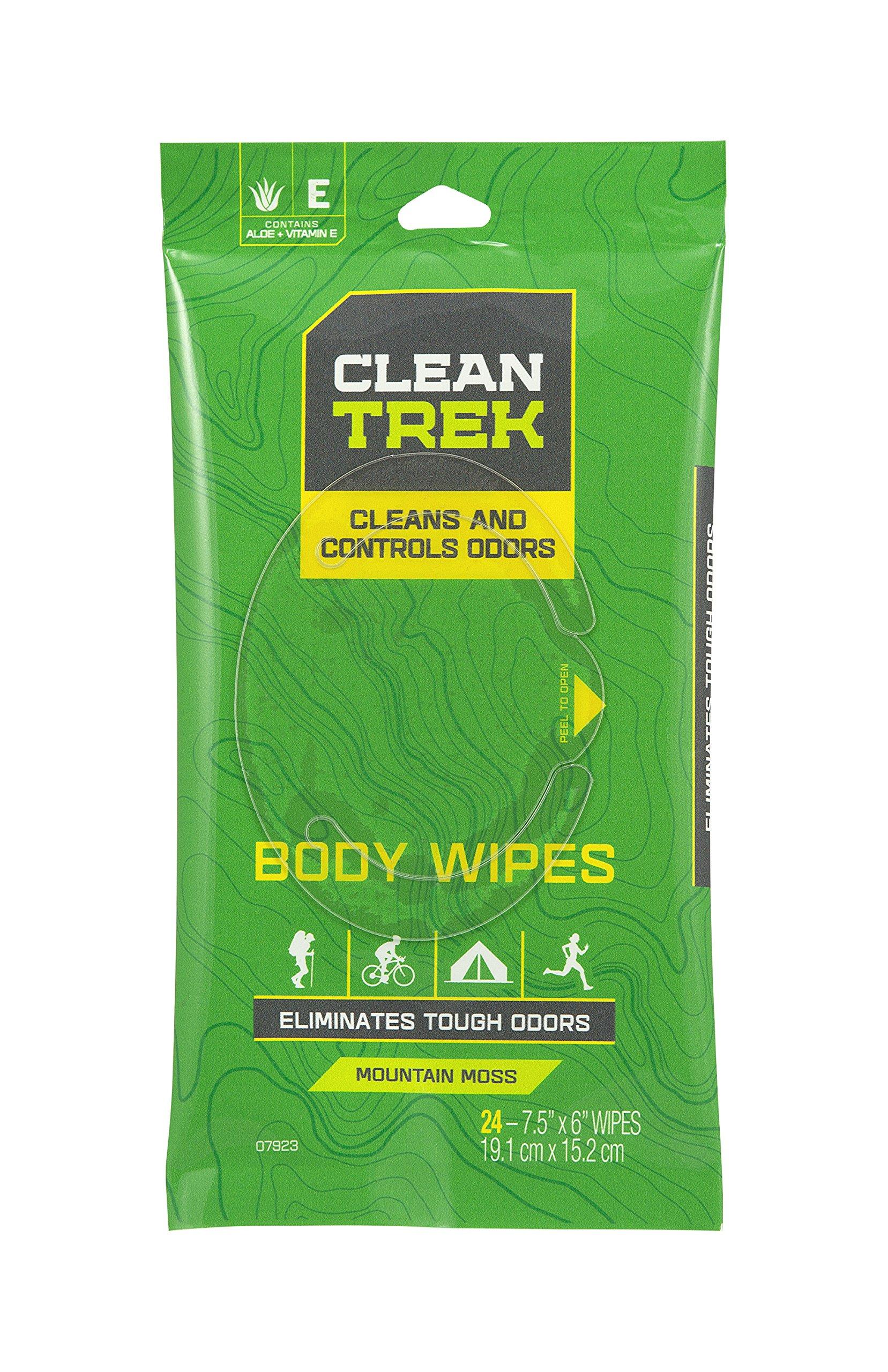 Clean Trek Body Wipes (Pack of 24)