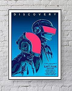 MeiMeiZ Daft Punk Poster Standard Size | 18-Inches by 24-Inches |Daft Punk Posters Wall Poster Print
