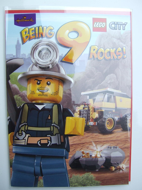 Lego City cumpleaños con texto en inglés para a partir de 9 ...