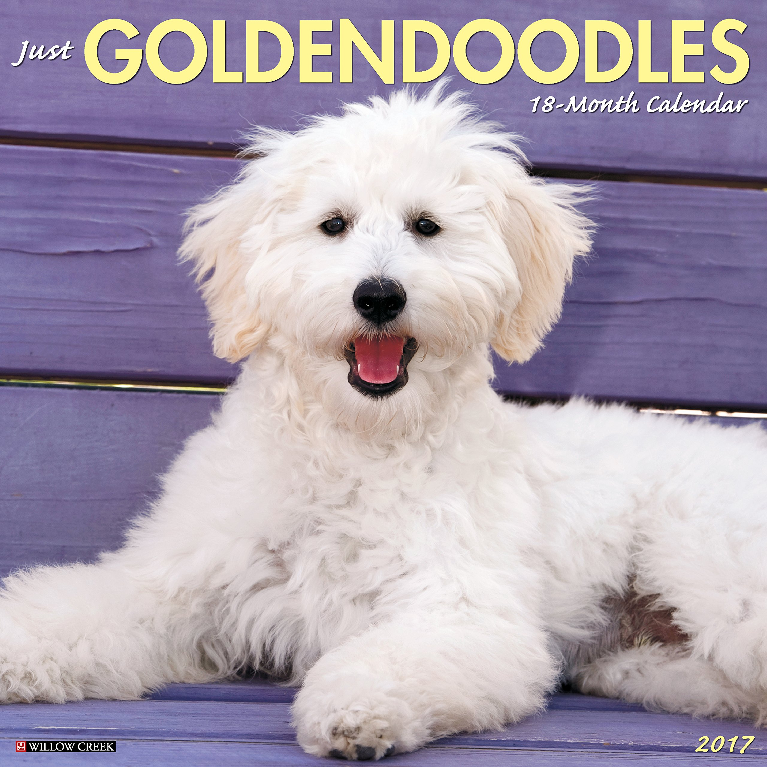 Just Goldendoodles 2017 Wall Calendar (Dog Breed Calendars)