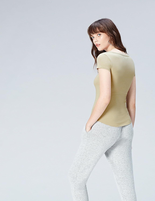 Activewear T-shirt con Scollo a V Donna