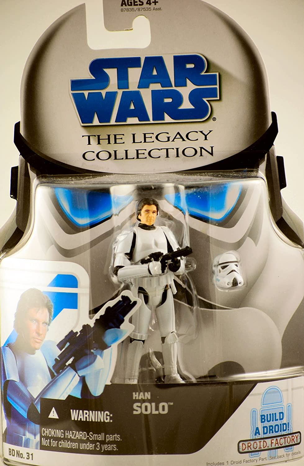 Star Wars Legacy Collection Han Solo Stormtrooper Disguise BD No. 31 R5-A2 Part 3.5