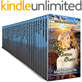 35 Sweet Western Brides: Wild West Brides Box Set: Sweet and Inspirational Western Historical Romance