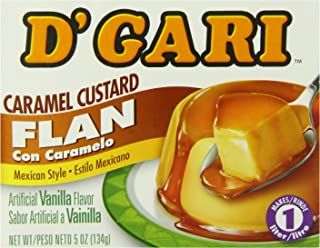 DGari Flan Dessert, Regular, 5 Ounce (Pack of ...