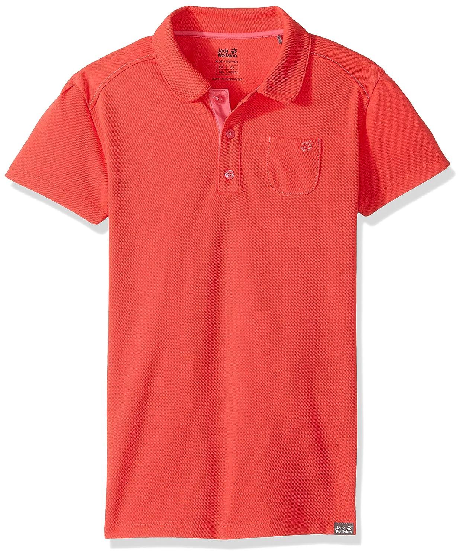 Jack Wolfskin Girls Pique Polo Shirt