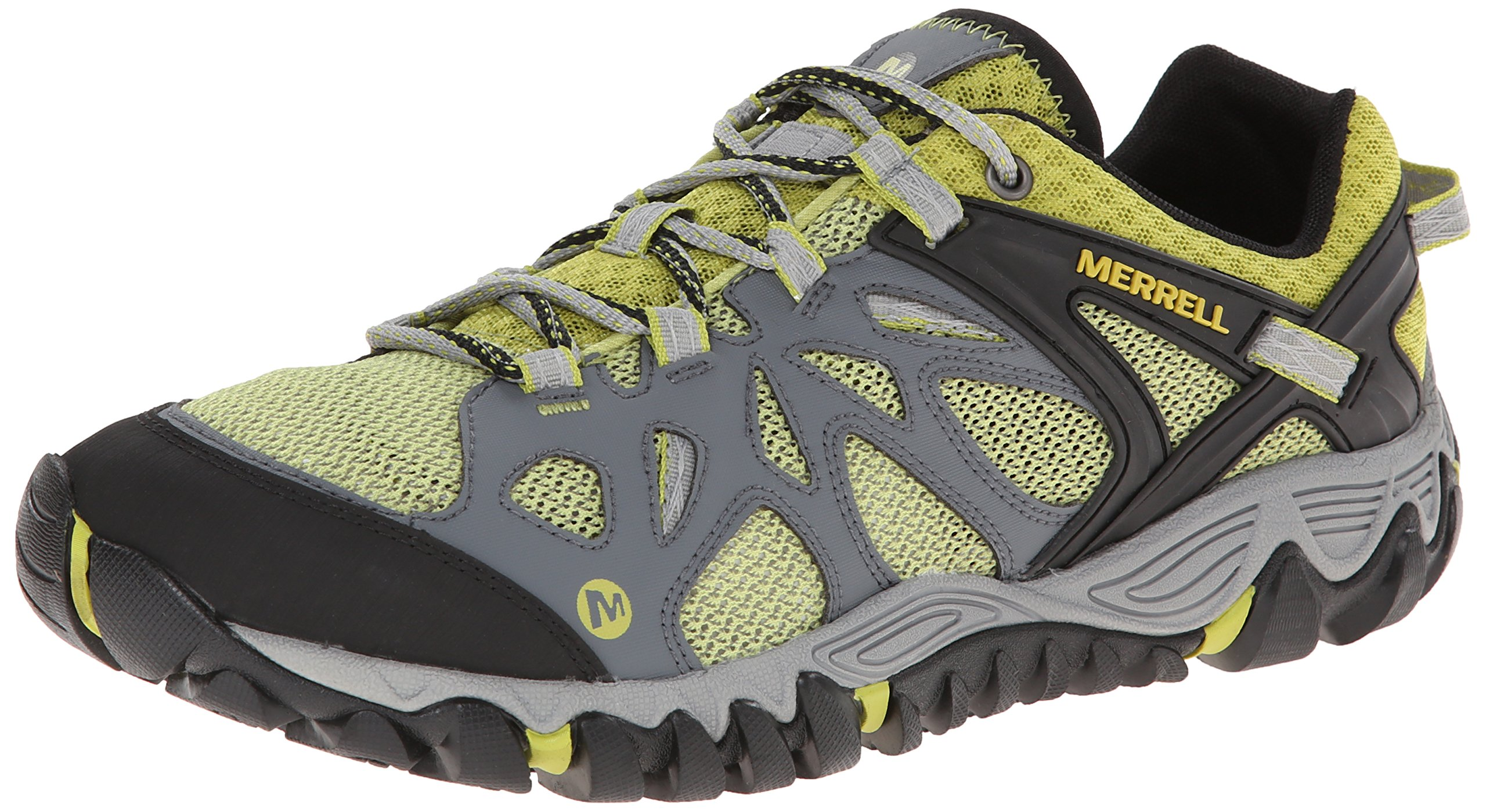 25e3f47228 Galleon - Merrell Men's All Out Blaze Aero Sport Hiking Water Shoe, Castle  Rock/Green, 12 M US