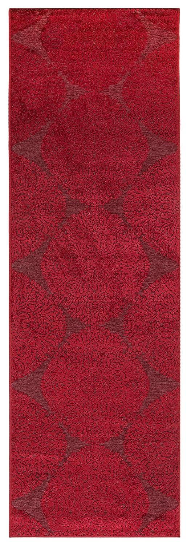 Vallila Hiutale efectビスコースランナー68 x 220 cm、赤、アクリル、220 x 1 x 68 cm   B0742MDR95