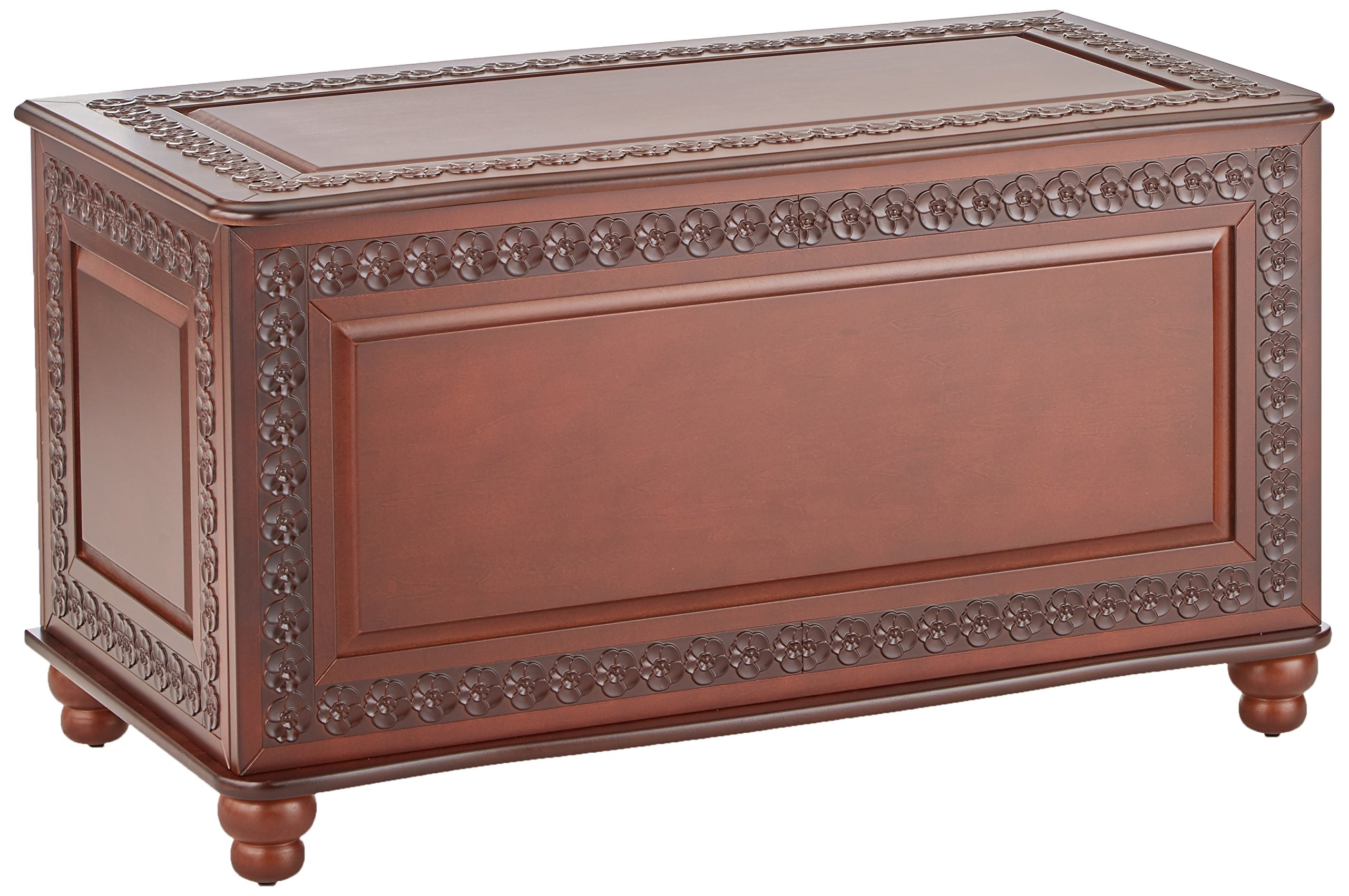 Coaster Home Furnishings  Traditional Cedar Lined Storage Trunk Hope Chest - Deep Tobacco by Coaster Home Furnishings