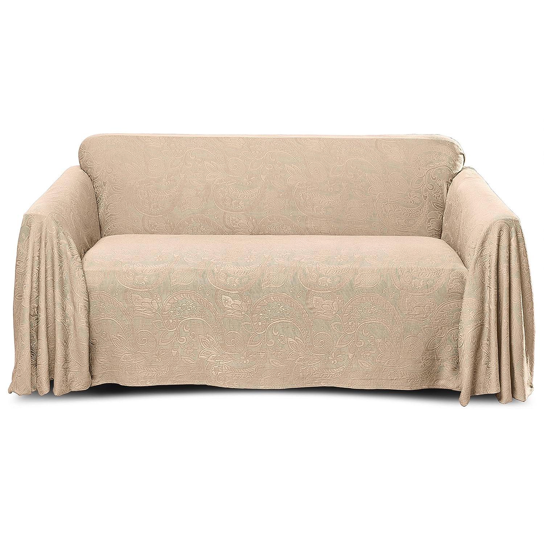 Stylemaster Alexandria Furniture Throw LARGE SOFA Beige