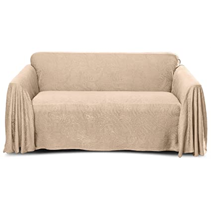 Stylemaster Alexandria Furniture Throw LARGE SOFA Beige