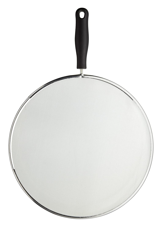 KitchenCraft Small Frying Pan Splash Guard / Splatter Screen, 20 cm (8