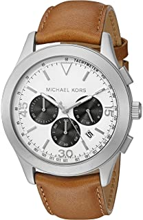 513eed0b5597 Amazon.com  Michael Kors Men s Pennant Brown Watch MK8372  Michael ...