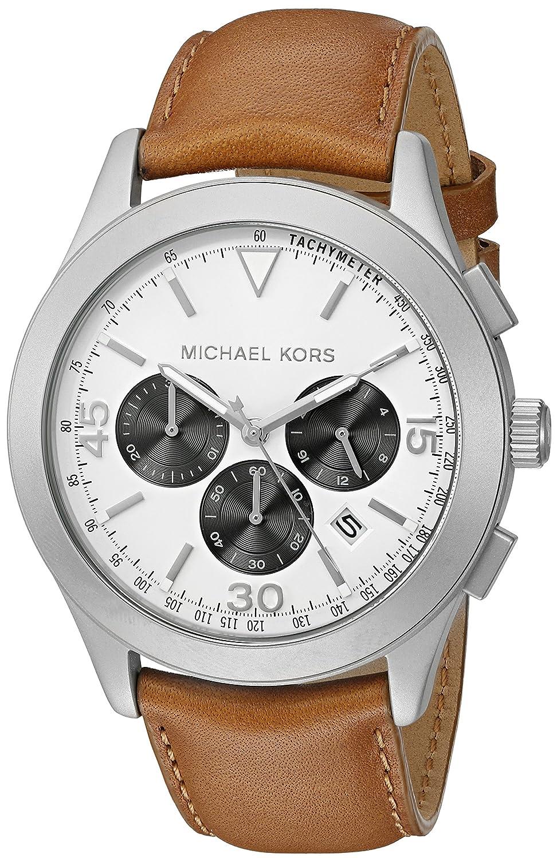 212c7e93e Amazon.com: Michael Kors Men's Gareth Brown Watch MK8470: Michael Kors:  Watches