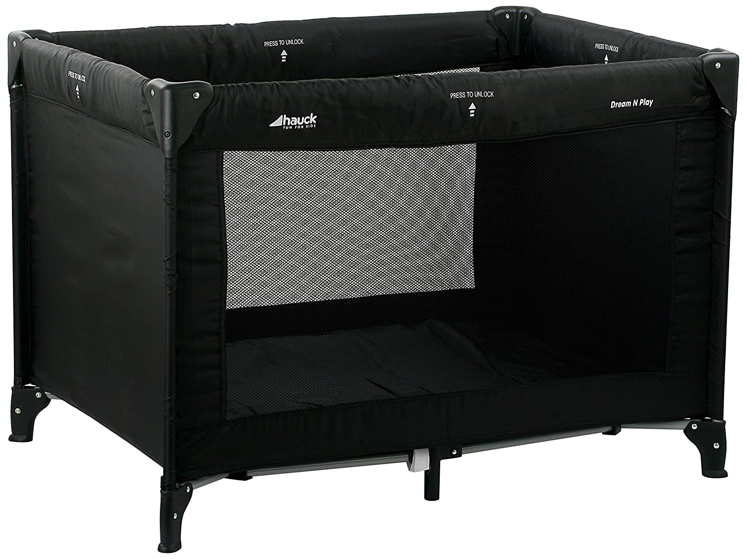 Hauck dream n play reisebett schwarz cm ca amazon