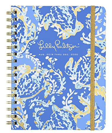 Amazon.com: Lilly Pulitzer Womens Monthly Planner Turtley ...