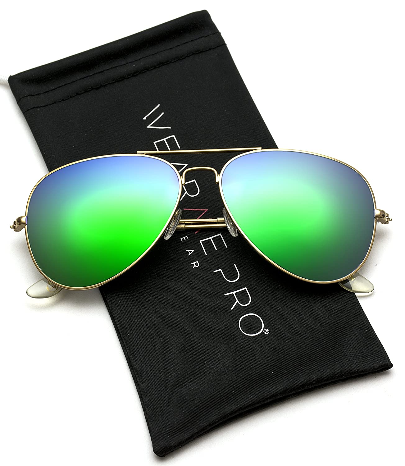 a03a18e9efd aviator full silver mirror metal frame sunglasses  Amazon.in  Clothing    Accessories