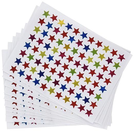 6 opinioni per eBoot Stelle di Adesivi Stelle Stickers Stella Adesivi Glitterati, Da 10 Fogli,