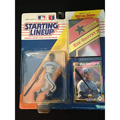 Starting Lineup Ken Griffey Jr. 1992 [Toy]: Toys & Games
