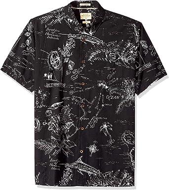 Quiksilver Hombre EQMWT03242 Manga Corta Camisa de Botones: Amazon.es: Ropa y accesorios