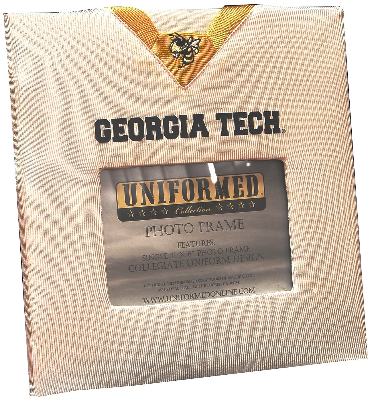 UNIFORMED Georgia Tech Picture Frame, 4 by 6-Inch