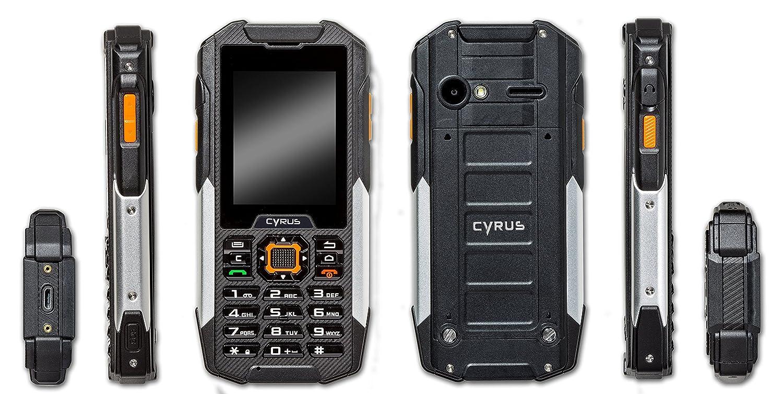 874a38046fab Cyrus CYR10031 6,1 cm (2,4) Smartphone Outdorr Hybrid CM16 (5MP, Android)   Amazon.fr  High-tech
