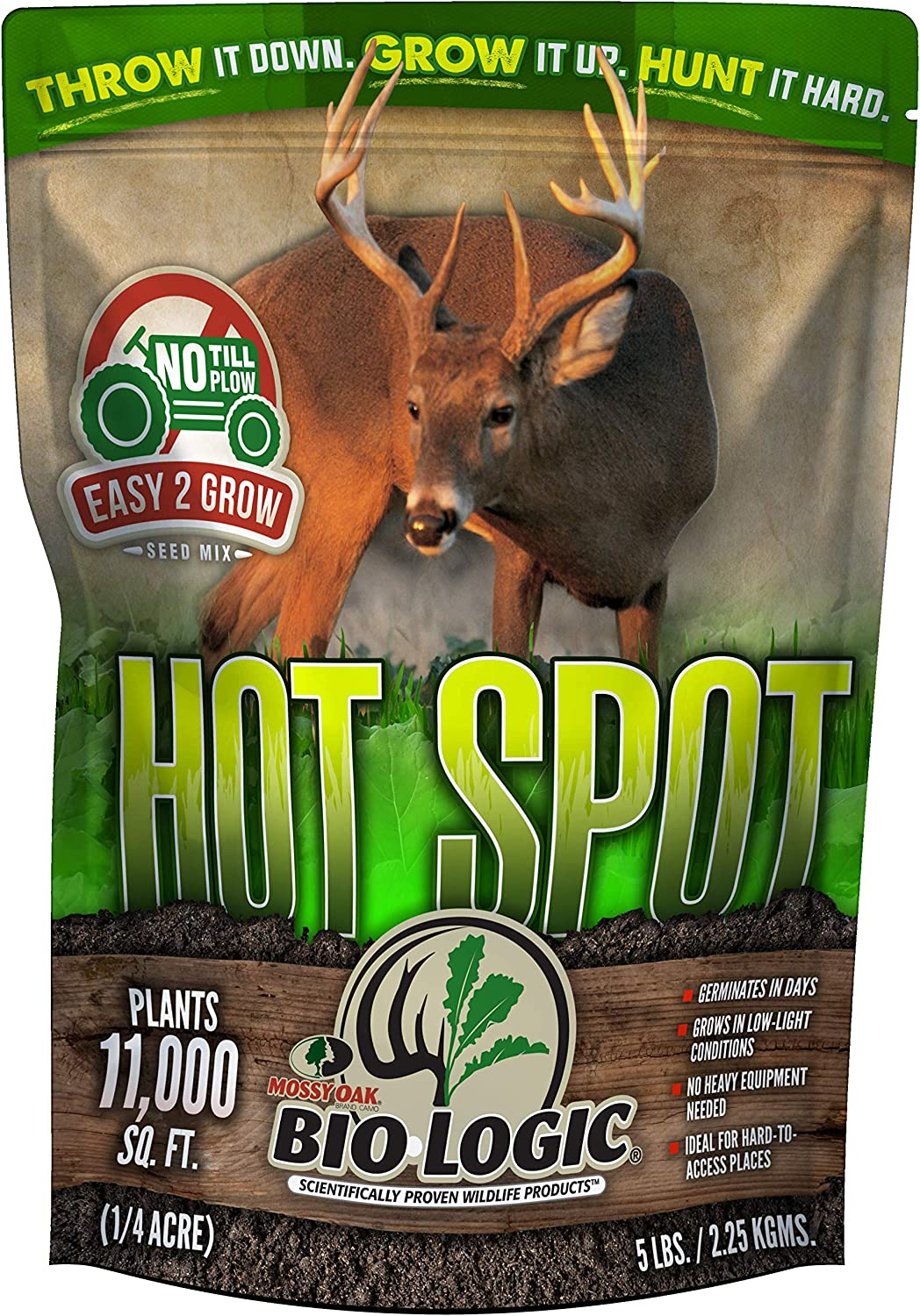 BioLogic Hot Spot No Till Food Plot Seed