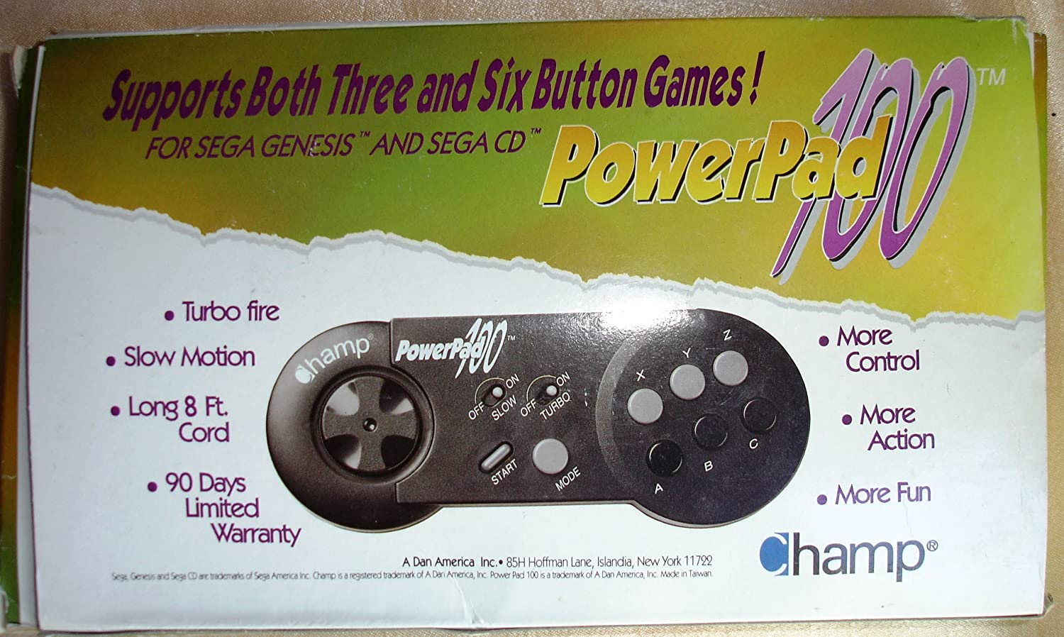 Amazon.com : Champ PowerPad 100-Sega Genesis Controller : Other Products : Everything Else