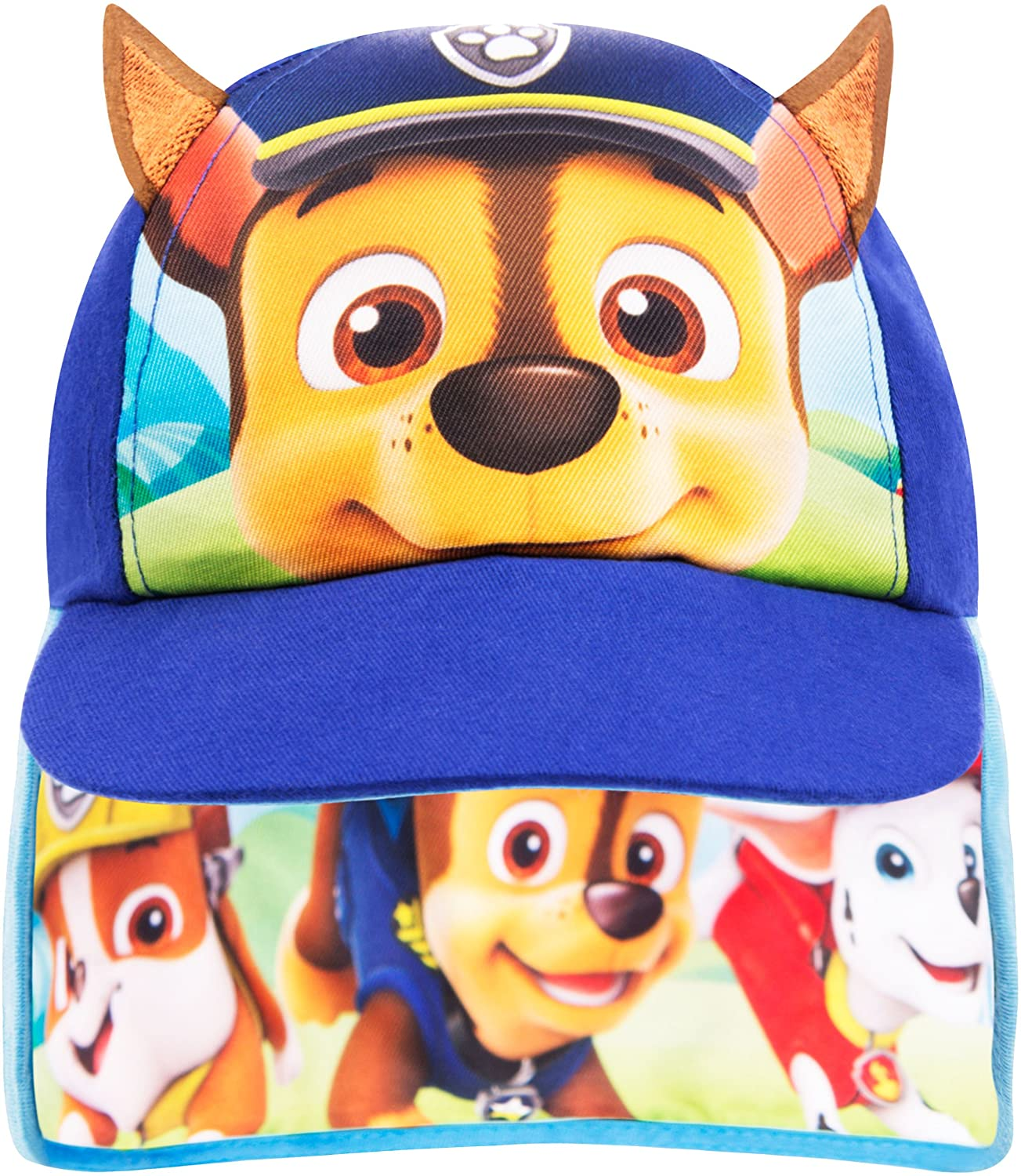 Paw Patrol Cap Boys Baseball Cap Summer Hat Ages 1 to 6 Years
