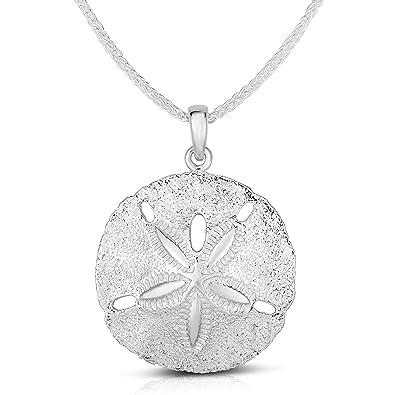 Estrella De Plata Collar-SÓLIDO STERLING 925 Estrella De Plata Colgante Cadena Hecha A Mano