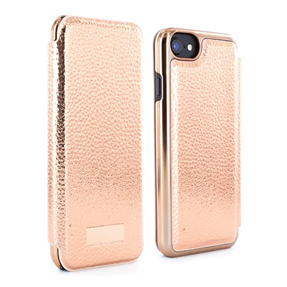 timeless design 01909 f2510 Ted Baker Folio Case for iPhone 6/7/8 - Rose Gold