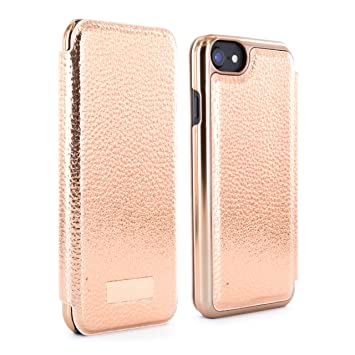 474e105cf Ted Baker CEDAR Mirror Folio Style Case for iPhone 8  Amazon.co.uk ...