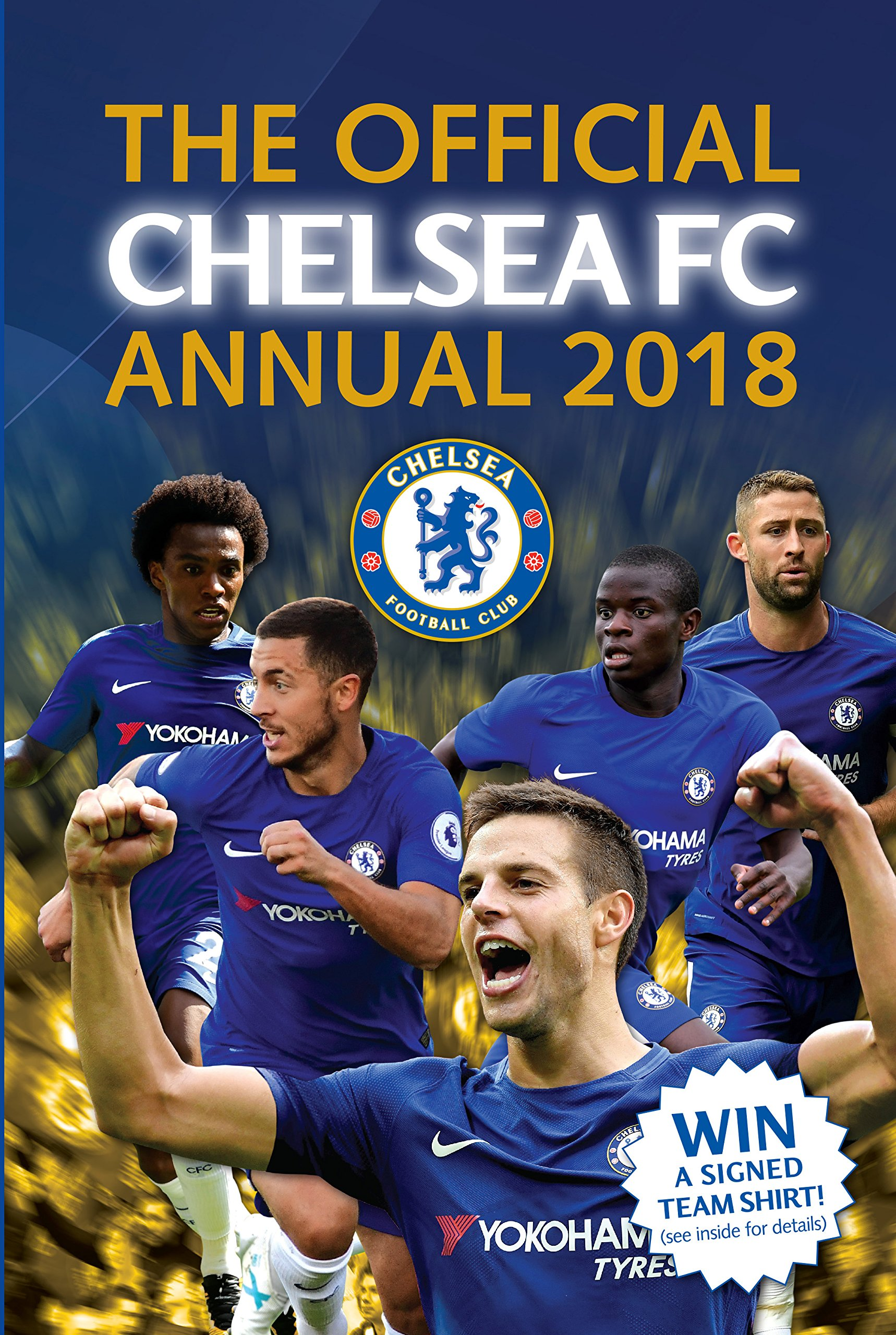 394371e101 The Official Chelsea FC Annual 2018 (Annuals 2018) Hardcover – 1 Oct 2017