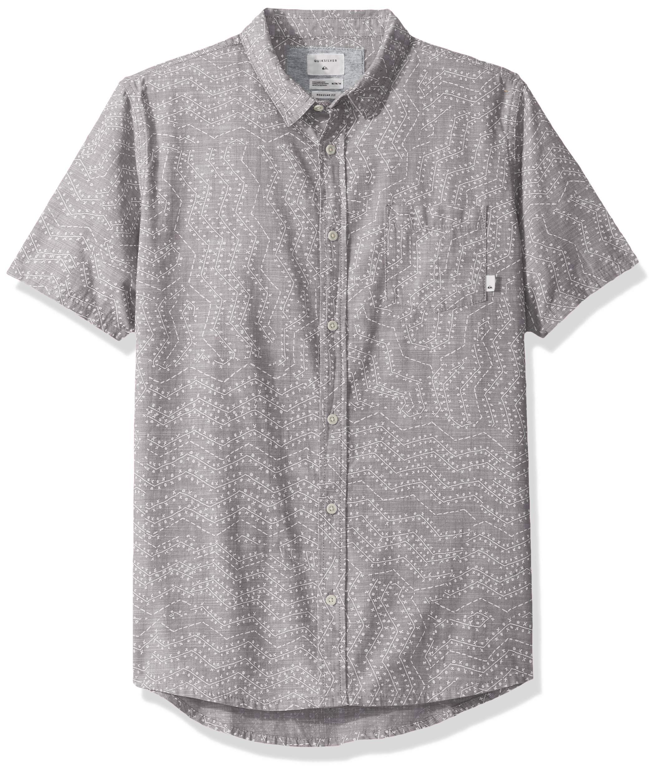 Quiksilver Men's Golden Wattle Short Sleeve Woven