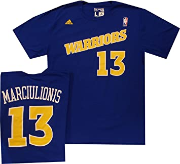 Golden State Warriors Sarunas Marciulionis Throwback Adidas 1992 Shirt (Small)