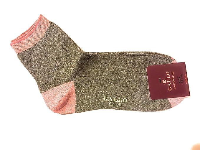 Gallo Calcetines cortos - para mujer Gris plateado Talla única: Amazon.es: Ropa y accesorios