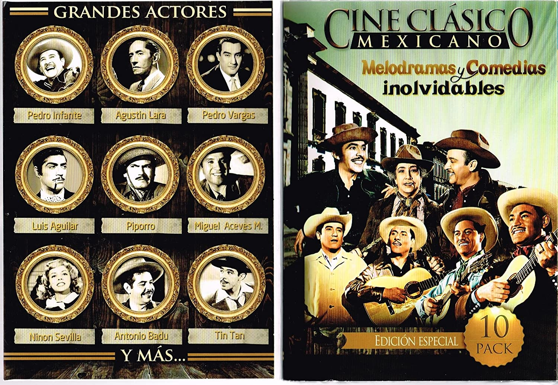 Amazon.com: CINE CLASICO MEXICANO [10 PELICULAS] DIOS LOS ...