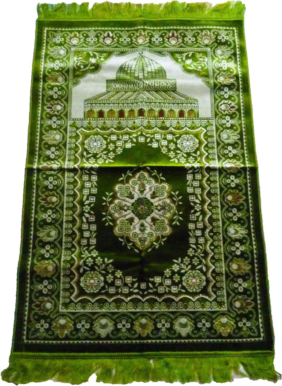 "EXTRA THICK1/"" thick SOFT SPONG Turkish Islamic Muslim Prayer Rug Carpet musallah"