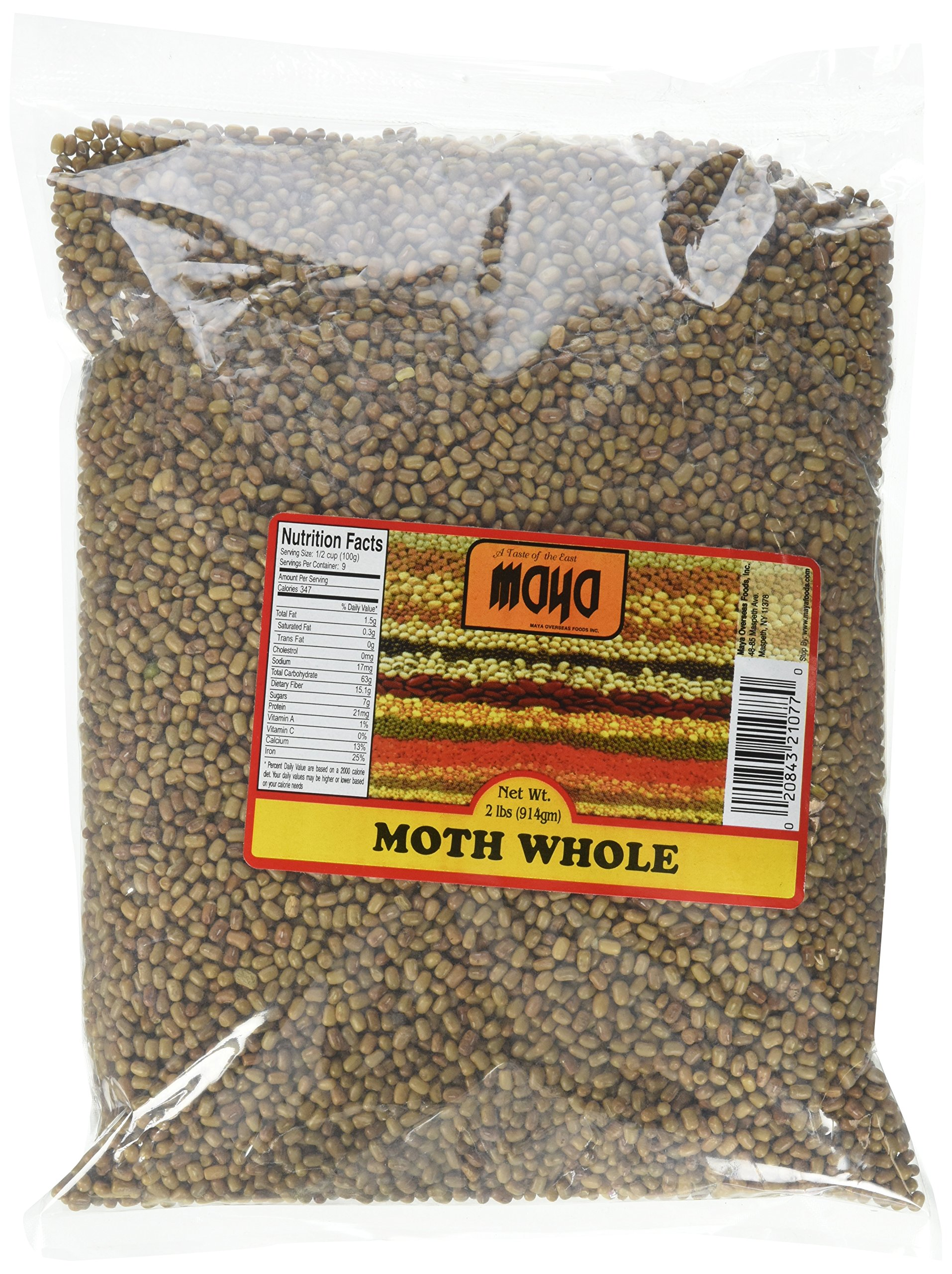 Maya Mat Beans Turkish Gram, Whole, 2 Pound (Pack of 20) by Maya Wrap