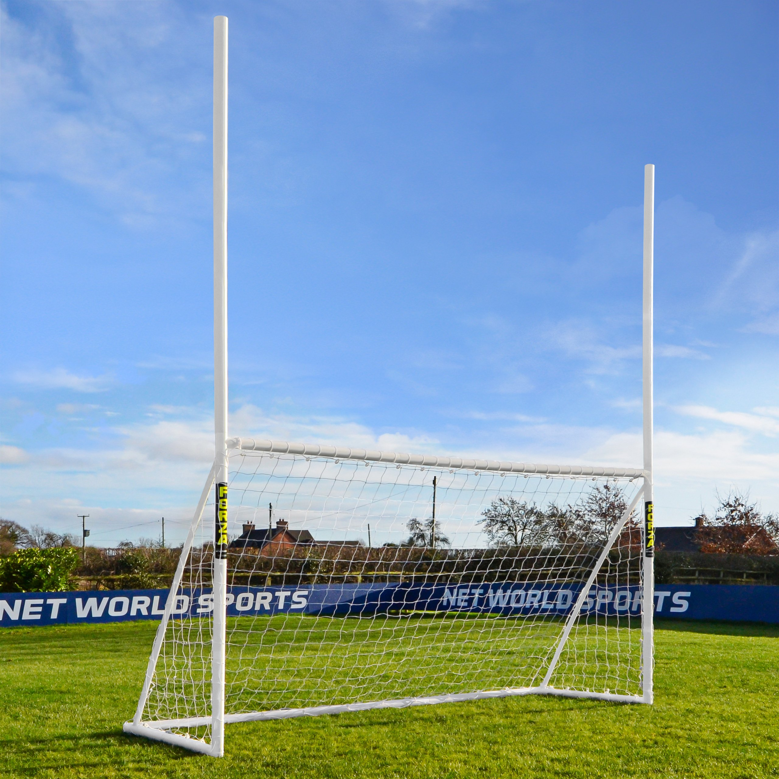 8ft x 5ft FORZA Gaelic Football & Hurling Posts - The Perfect Introduction To Gaelic Football [Net World Sports]