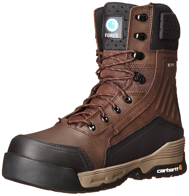 Carhartt メンズ B00WX765UM 11 D(M) US|Brown Coated Leather Brown Coated Leather 11 D(M) US