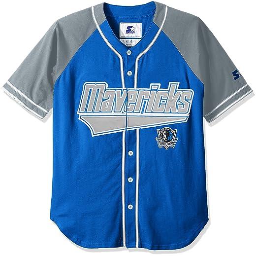 7d3897b9f7d Amazon.com   STARTER NBA Mens The Player Baseball Jersey   Sports ...